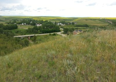 The peaceful hamlet of Rosebud